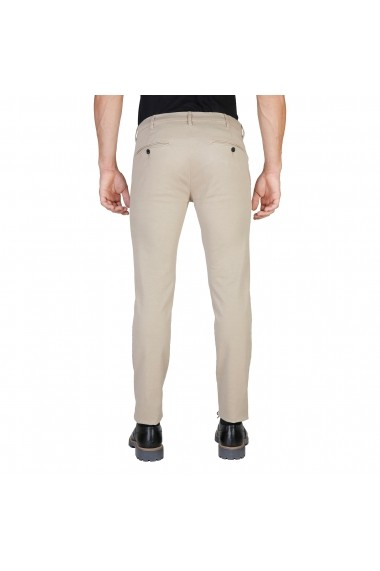 Pantaloni Oxford University OXFORD PANT-REGULAR-KHAKY kaki