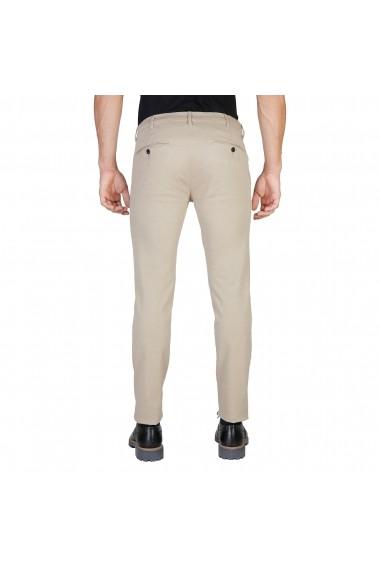 Pantaloni Oxford University OXFORD PANT-REGULAR-KHAKY kaki - els