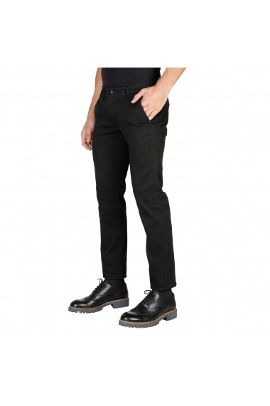 Pantaloni Oxford University OXFORD PANT-REGULAR-BLACK negru