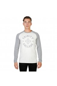 Bluza Oxford University TRINITY-RAGLAN-ML-GREY gri