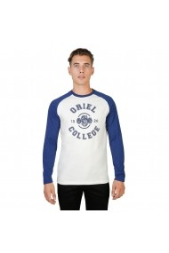 Bluza Oxford University ORIEL-RAGLAN-ML-NAVY bleumarin