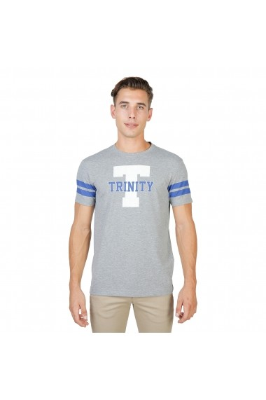 Tricou Oxford University TRINITY-STRIPED-MM-GREY gri