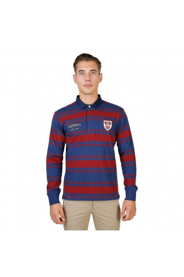 Bluza Polo Oxford University QUEENS-RUGBY-ML-RED rosu