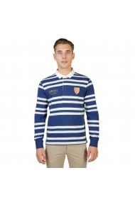 Bluza Polo Oxford University ORIEL-RUGBY-ML-NAVY bleumarin