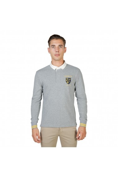 Bluza Polo Oxford University TRINITY-POLO-ML-GREY gri