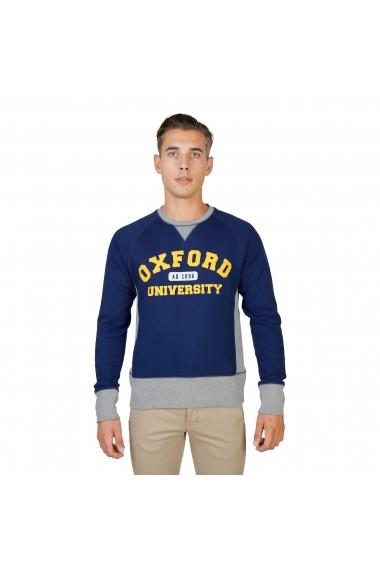 Bluza Oxford University OXFORD-FLEECE-RAGLAN-NAVY bleumarin