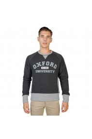 Bluza Oxford University OXFORD-FLEECE-RAGLAN-GREY gri