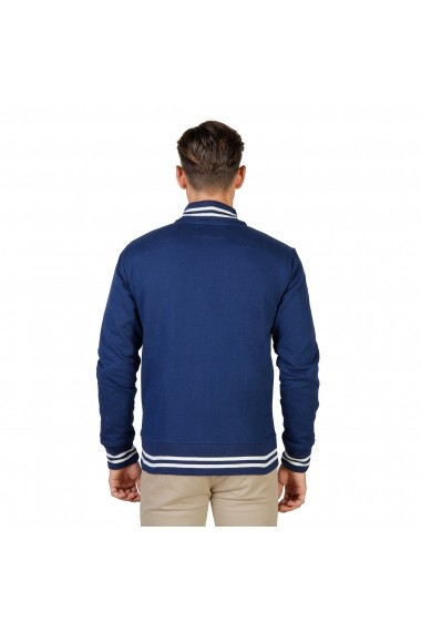 Jacheta sport Oxford University OXFORD-FLEECE-TEDDY-NAVY bleumarin