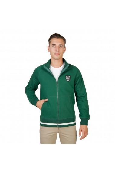 Jacheta sport Oxford University MAGDALEN-FULLZIP-GREEN verde