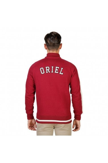 Bluza sport Oxford University ORIEL-FULLZIP-RED rosu