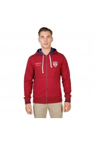 Hanorac Oxford University QUEENS-HOODIE-RED rosu