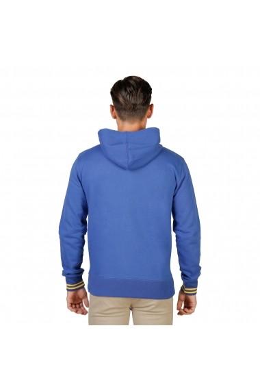Hanorac Oxford University TRINITY-HOODIE-ROYAL albastru