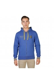 Hanorac Oxford University TRINITY-HOODIE-ROYAL albastru