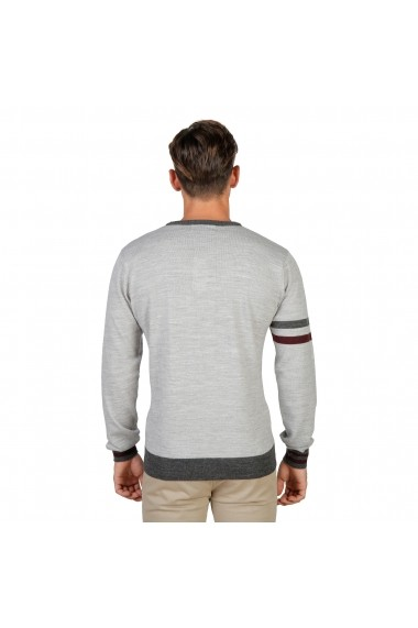 Pulover Oxford University OXFORD_TRICOT-CREWNECK-GREY gri