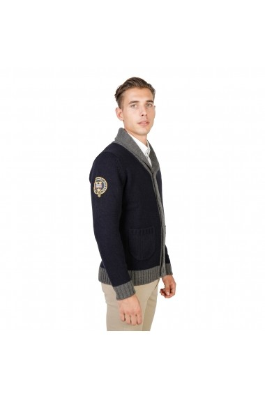 Cardigan Oxford University OXFORD_TRICOT-CARDIGAN-NAVY bleumarin