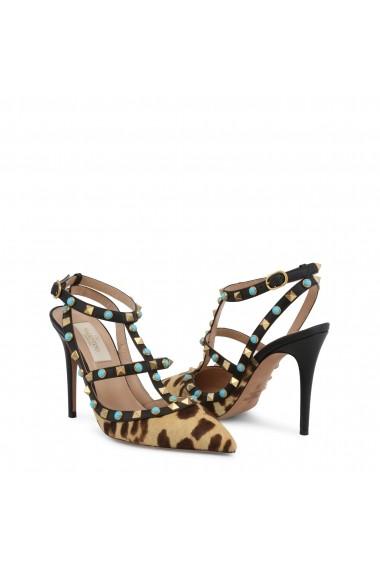 Pantofi cu toc Valentino LW2S0393CV8 C22 Animal Print
