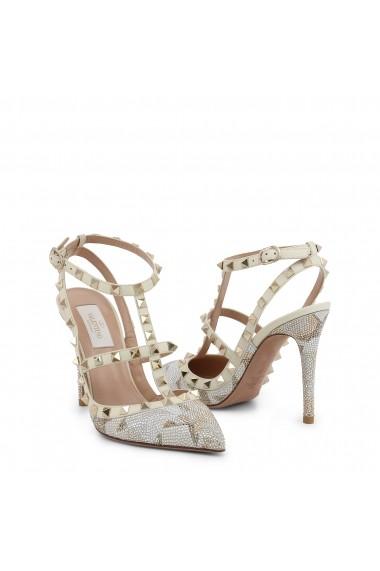 Pantofi cu toc Valentino LW2S0393CTR 445 Albi