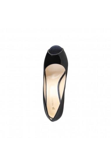 Pantofi cu toc Trussardi 79S005_19_NERO negru