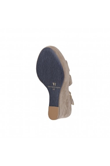 Sandale cu toc Trussardi 79S001 04 BEIGE maro