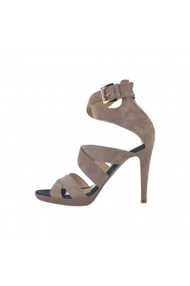 Sandale cu toc Trussardi 79S003 05 BEIGE maro