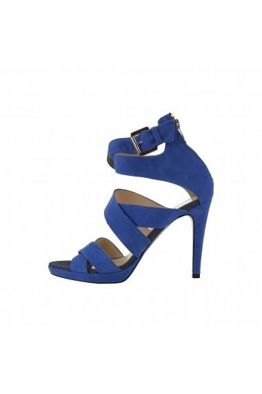 Sandale cu toc Trussardi 79S003 46 BLUETTE albastru