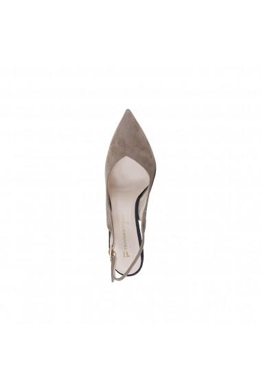 Pantofi cu toc Trussardi 79S009 05 BEIGE maro
