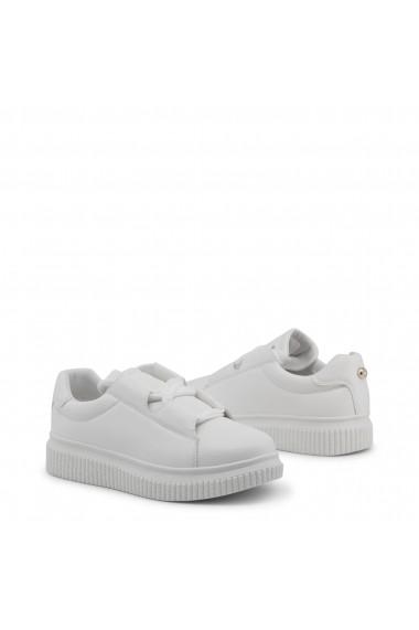 Pantofi sport Blu Byblos CASSETTA_682101_BIANCO Alb