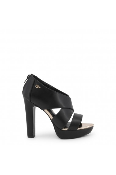 Sandale cu toc Blu Byblos THIN_682366_NERO Maro