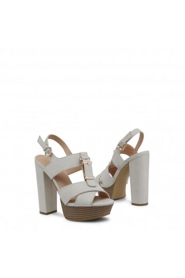 Sandale cu toc Blu Byblos FLARED_682358_LATTE Rosu