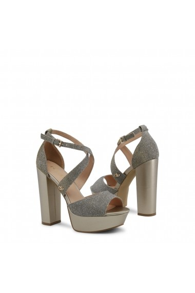 Sandale cu toc Blu Byblos FLARED 682357 ORO Argintiu - els