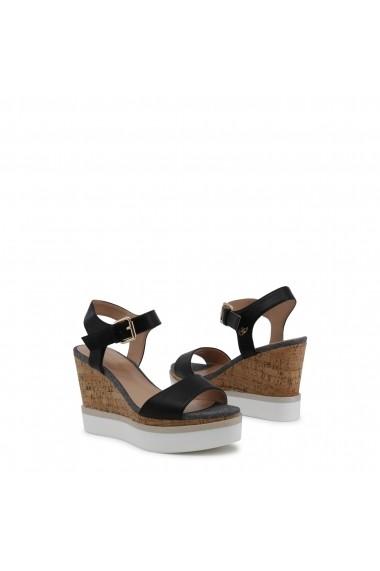 Sandale cu toc Blu Byblos DAILY_682341_NERO Maro
