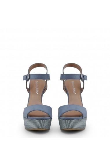 Sandale cu toc Blu Byblos COVERED_682327_AZZURRO Rosu