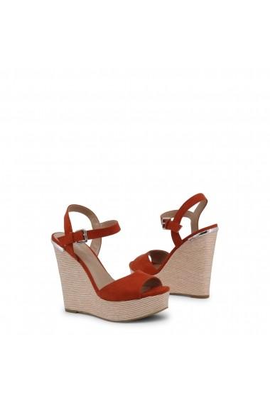 Sandale cu toc Blu Byblos COVERED_682327_ARANCIO Rosu