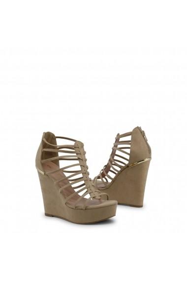 Sandale cu toc Blu Byblos COVERED_682324_BEIGE Rosu - els