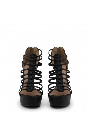 Sandale cu toc Blu Byblos COVERED_682323_NERO Maro