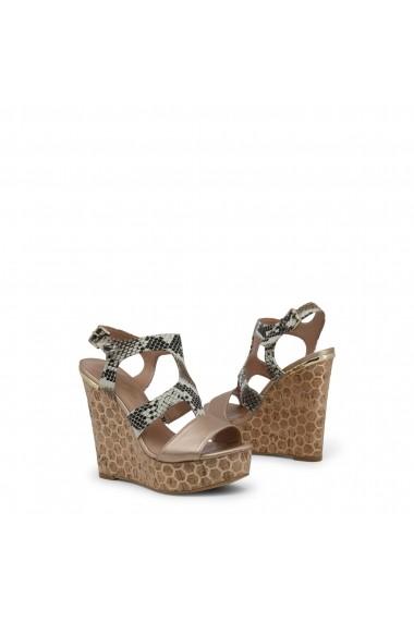 Sandale cu toc Blu Byblos COVERED_682320_ROCCIA Rosu