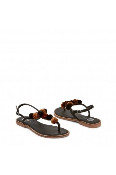 Sandale plate Gioseppo SARIDA 40628R NERO