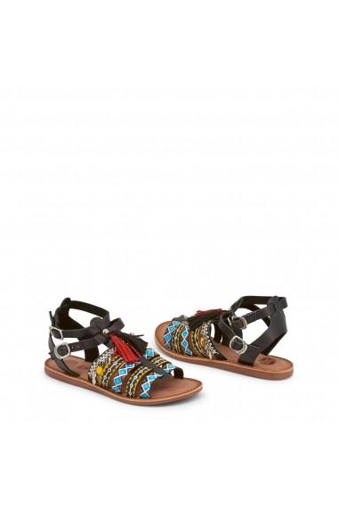 Sandale plate Gioseppo FEDRA 40515 NERO