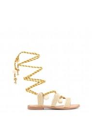 Sandale plate Gioseppo QUETZALI 40501R ORO-BIANCO
