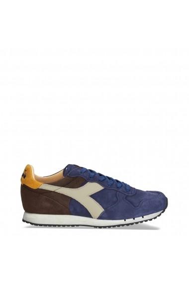 Pantofi sport Diadora Heritage TRIDENT_S_SW_C7163_BLU-MARRONE Albastru