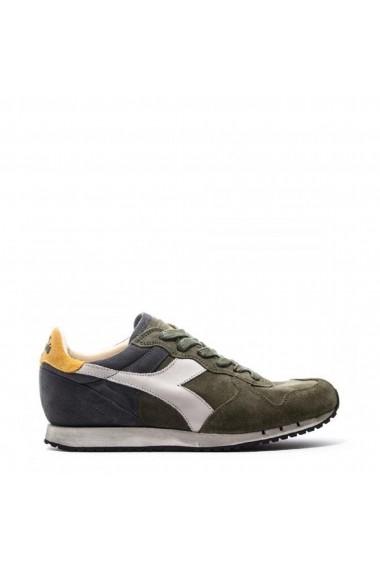 Pantofi sport Diadora Heritage TRIDENT_S_SW_C7162_VERDE-BLU Verde