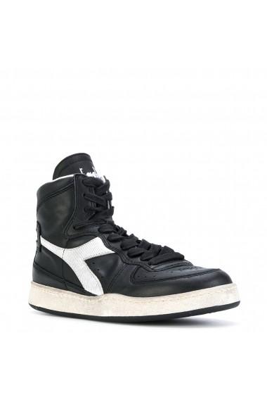 Pantofi sport Diadora Heritage MI_BASKET_USED_C0641_NERO Negru