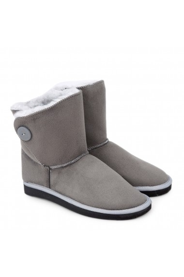 Ghete Antarctica SINGLE_S124GRY_GREY Gri