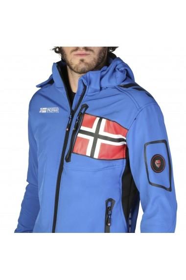 Jacheta Geographical Norway Renade_man_royalblue Albastru