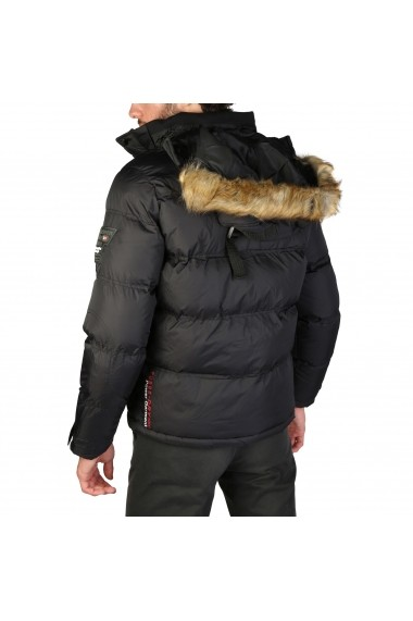 Jacheta Geographical Norway Bonap_man_black - els Negru