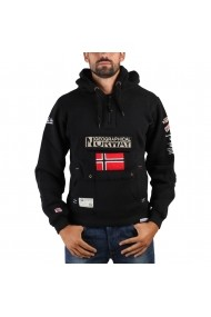 Hanorac Geographical Norway Gymclass man black - els
