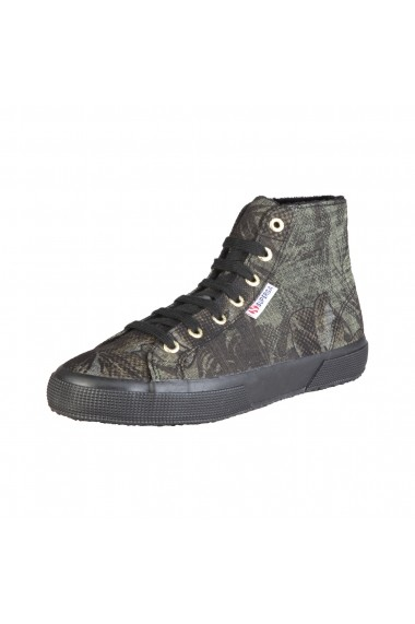 Pantofi sport Superga S009ZN0_2795_A46_MILITARYFLOWER fucsia