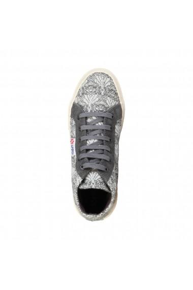 Pantofi sport Superga S0072G0_2095_995_GREYWHITE fucsia