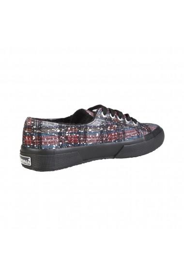 Pantofi sport Superga S009YA0 2750 907 NAVYREDSILVER print