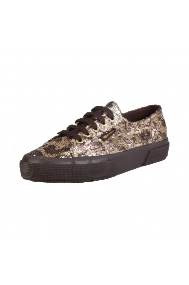 Pantofi sport Superga S009Y70 2750 902 GOLDBRONZE animal print